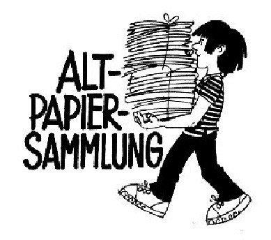Altpapier-Clip