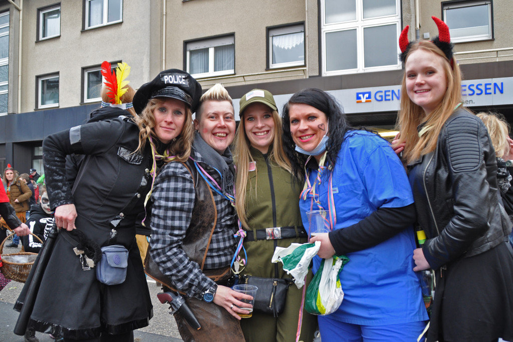 Karnevalsumzug 2017 in Freisenbruch