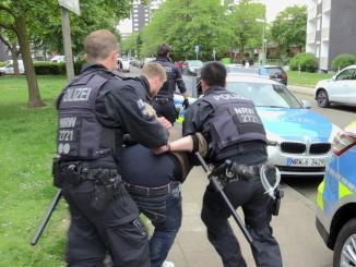Verfolgungsjagd Hörsterfeld Festnahme Mann