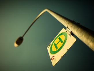 Symbolbild: Haltestelle
