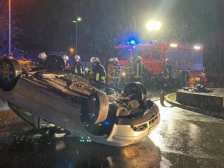 Unfall Parkplatz Schwimmbad Oststadt Freisenbruch