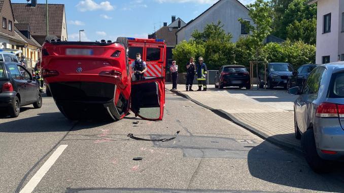 Unfall Sachsenring 31.05.2021